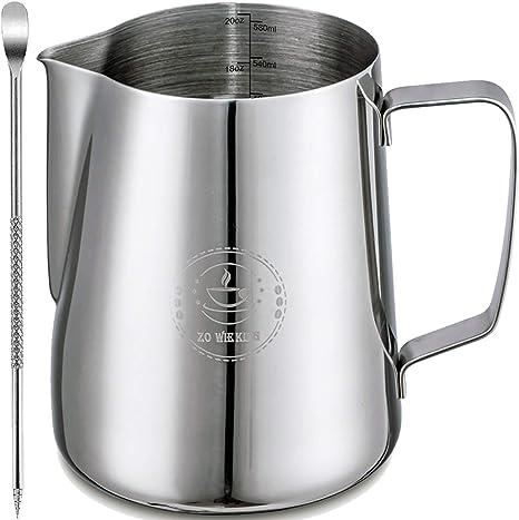 Milk Frothing Pitcher Art Jug Mug Creamer Latte Coffee Foam Cup Stainless Steel