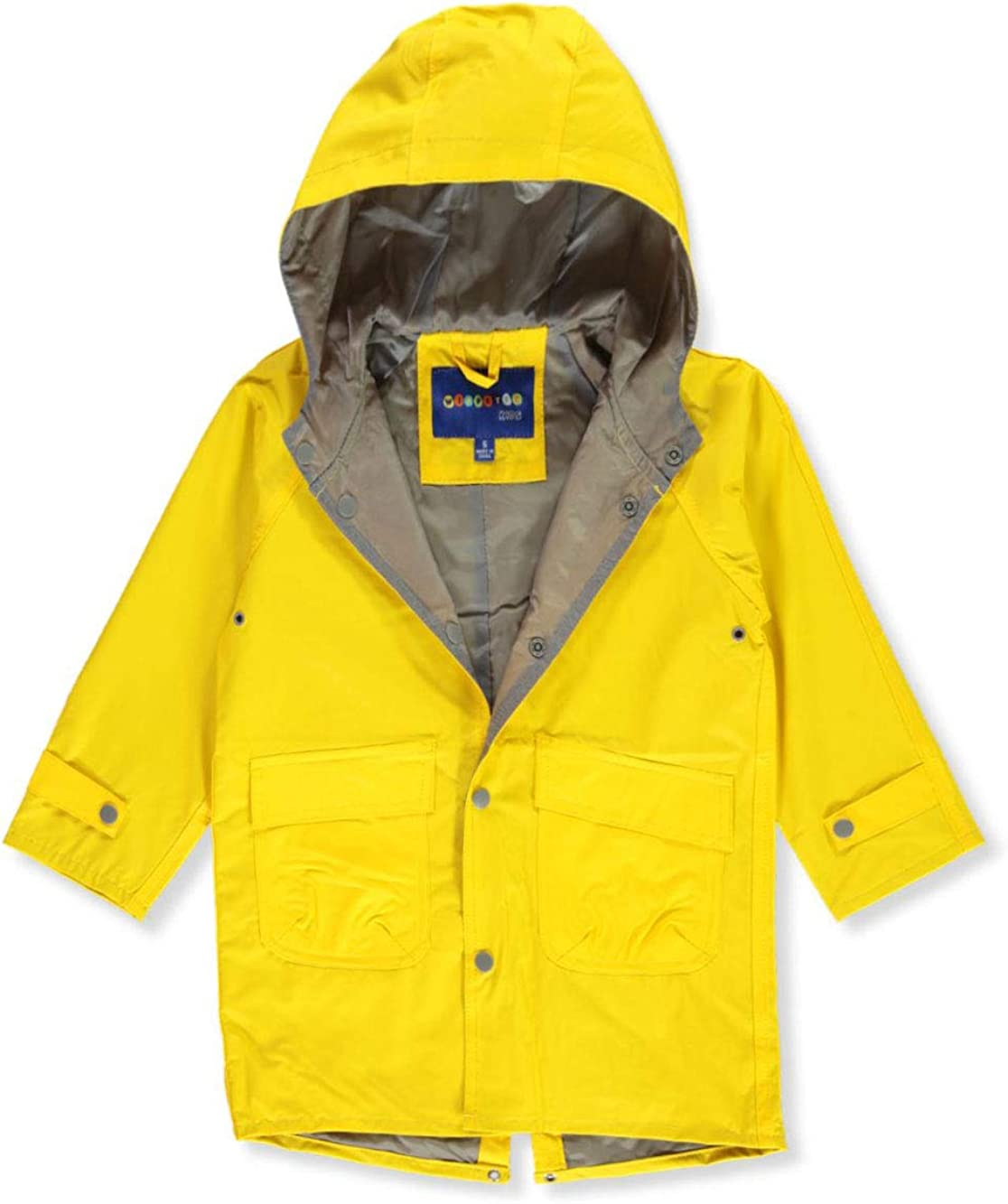 Wippette Unisex Raincoat - Yellow, 3t