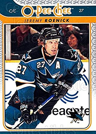 e7ae0e56b Amazon.com  (CI) Jeremy Roenick Hockey Card 2009-10 O-pee-chee (base ...