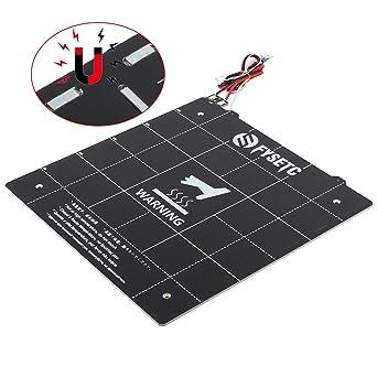 FYSETC - Cama térmica magnética para impresora 3D, 300 x 300 mm ...