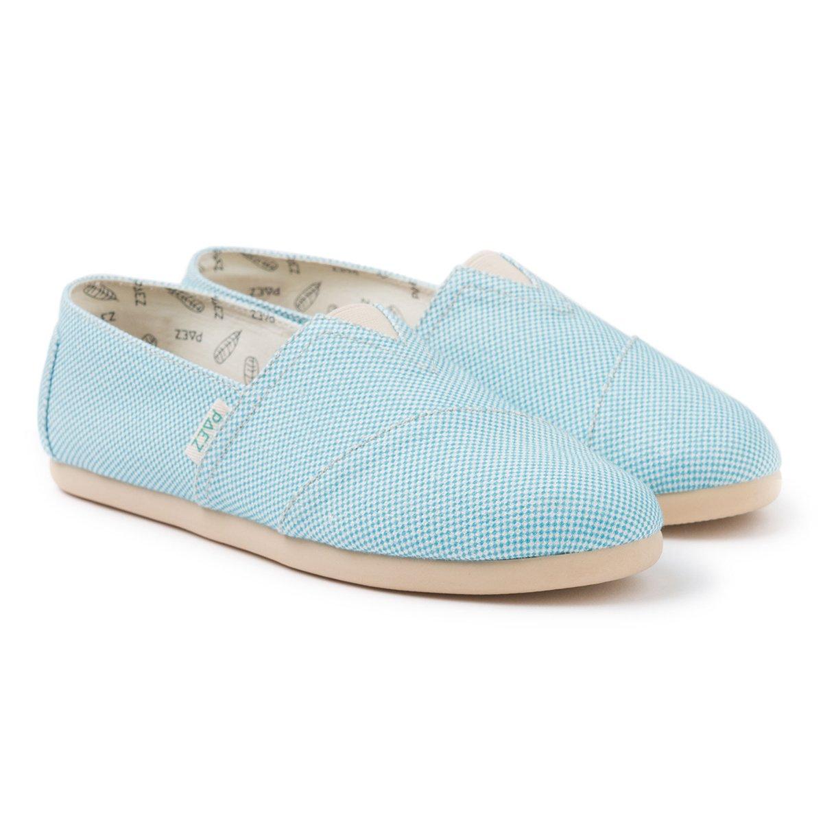 Original - Panama Blue Turquoise Woman 035 -