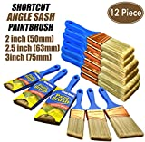 12 Piece(2 inch,2.5inch,3inch) Professional Painters selected,touch up paint brush,paint brush for walls,paint brushes,paint brush,paint brush set,polyester paint brush,paint brush se,trim paint brush