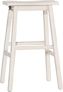 Hillsdale Moreno Backless Counter Height Stool, Sea White