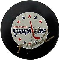 $59 » Mike Gartner Signed/Autographed Washington Capitals Hockey Puck PSA/DNA 147782 - Autographed NHL Pucks