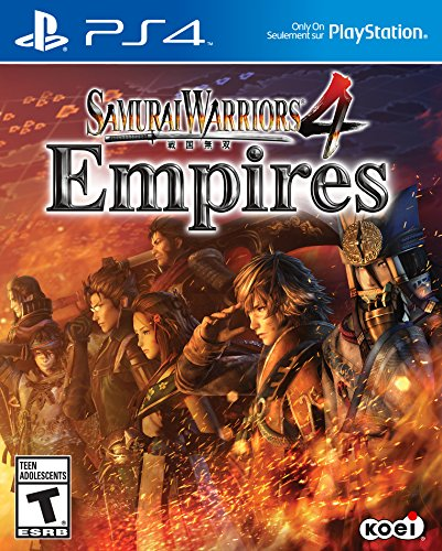 Samurai Warriors 4 Empires - PlayStation 4 (Best Create A Character Games Ps4)