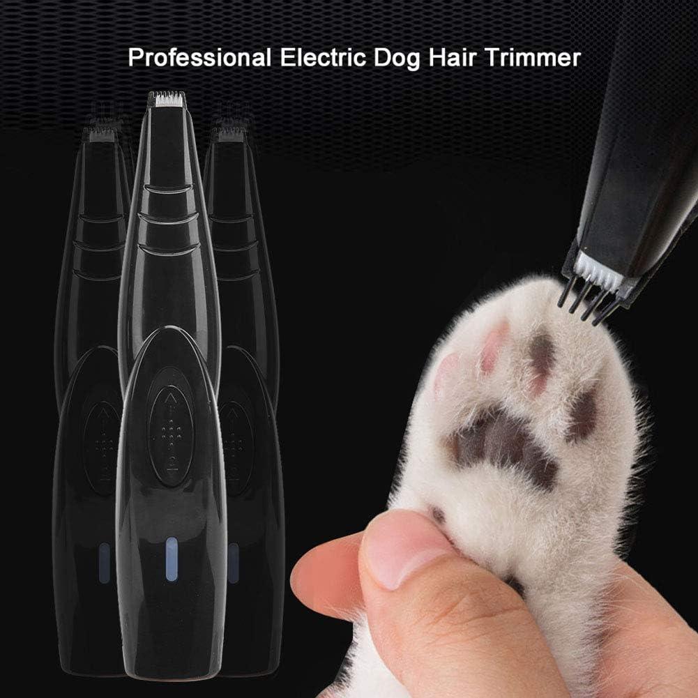 Leyeet Podadoras para Mascotas Cortadora de Pelo El/éctrica Profesional para Perros M/áquina de Afeitar para Gatos Maquinilla de Afeitar para Gatos