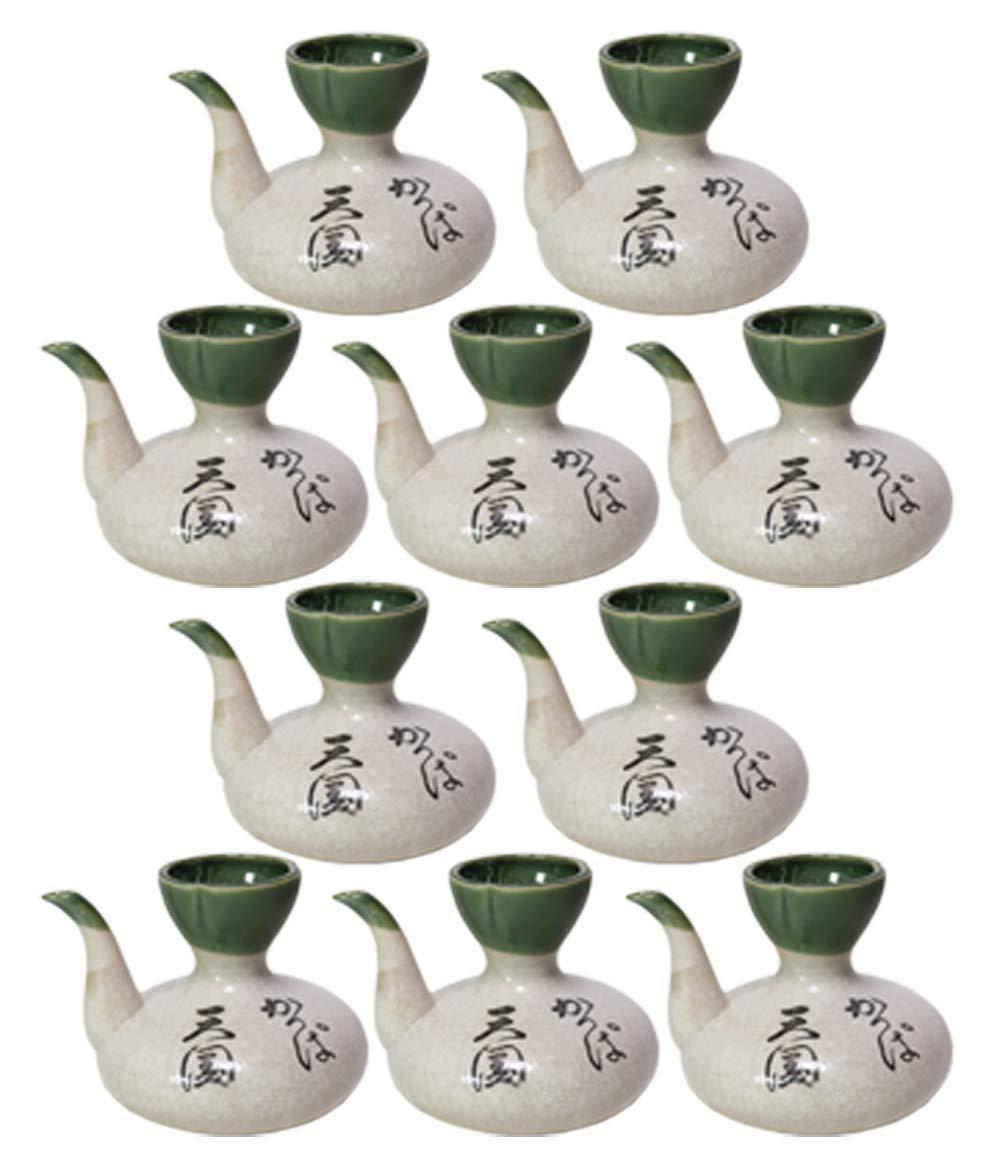 10個セット カッパ燗瓶3号[ 500cc ]【 酒器 】【 居酒屋 割烹 和食器 飲食店 業務用 】 B07CJG3B9H