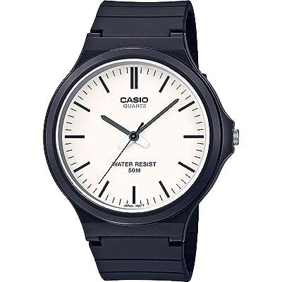 CASIO MW-240 - Reloj analógico de Cuarzo Unisex con Correa de Resina
