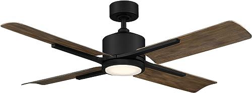 Modern Forms FR-W1806-56L27MBBW Cervantes Energy Efficient Smart Home Ceiling Fan