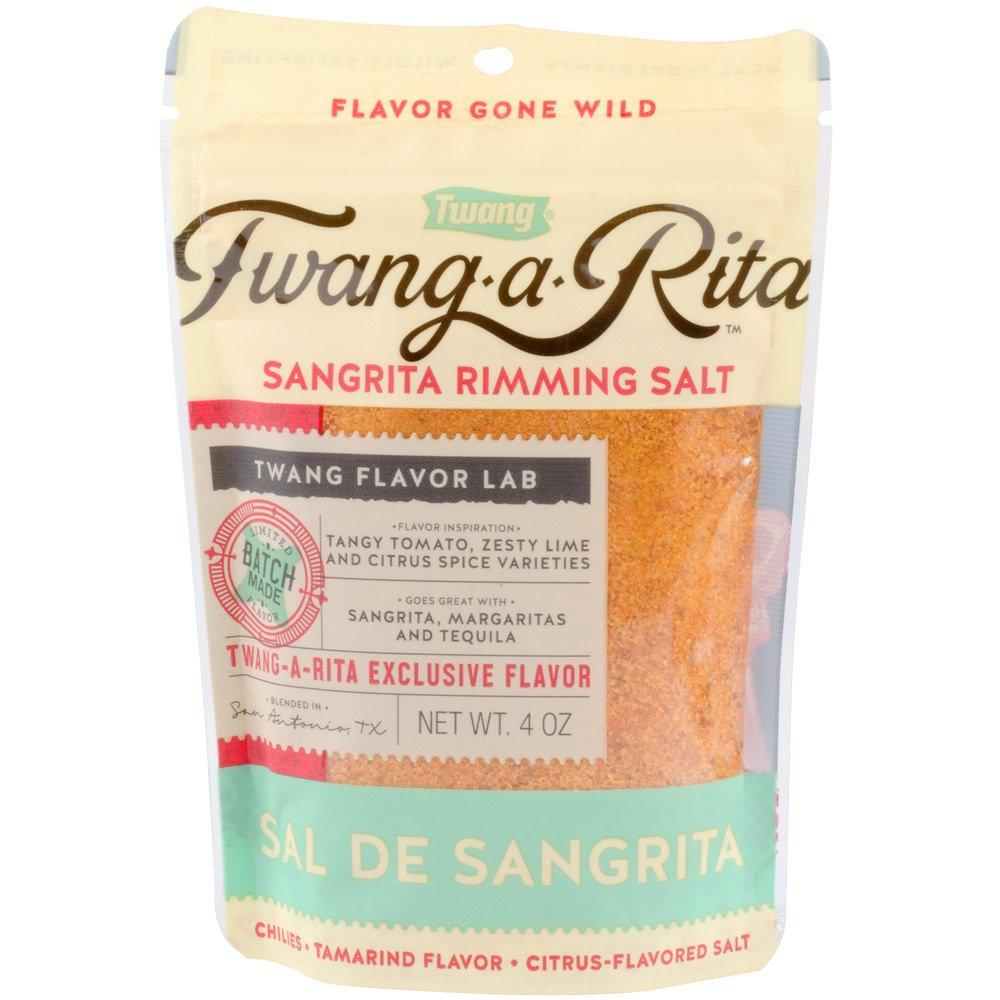 Twang Sangrita Rimming Salt - 4 oz. Pack of 10