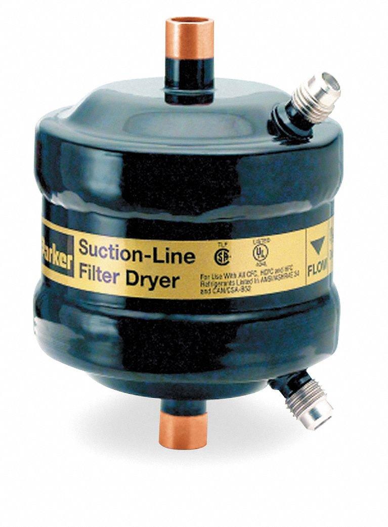 Suction Line Filter/Dryer, 3/4 Sweat I.D. PARKER