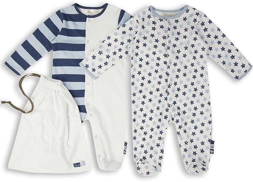 The Essential One - Pijama Pijamas para bebé niños - Paquete de 2 - ESS166