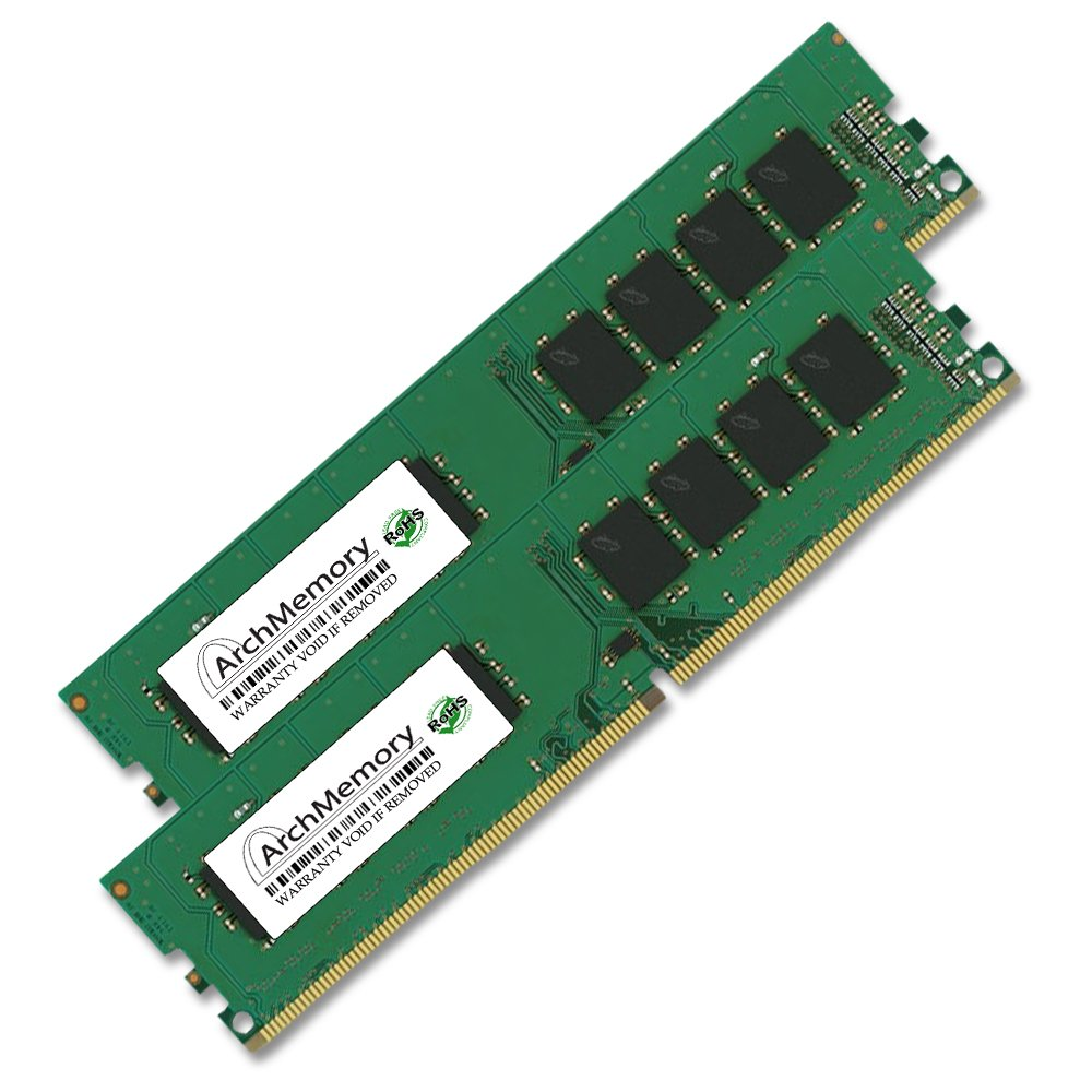 16GB (2 x 8GB) Ram Memory upgrade for Dell XPS 8900 PC4-17000 DDR4-2133 288-pin Non-ECC Unbuffered by Arch Memory AM8GB2133DTx2-AM82133