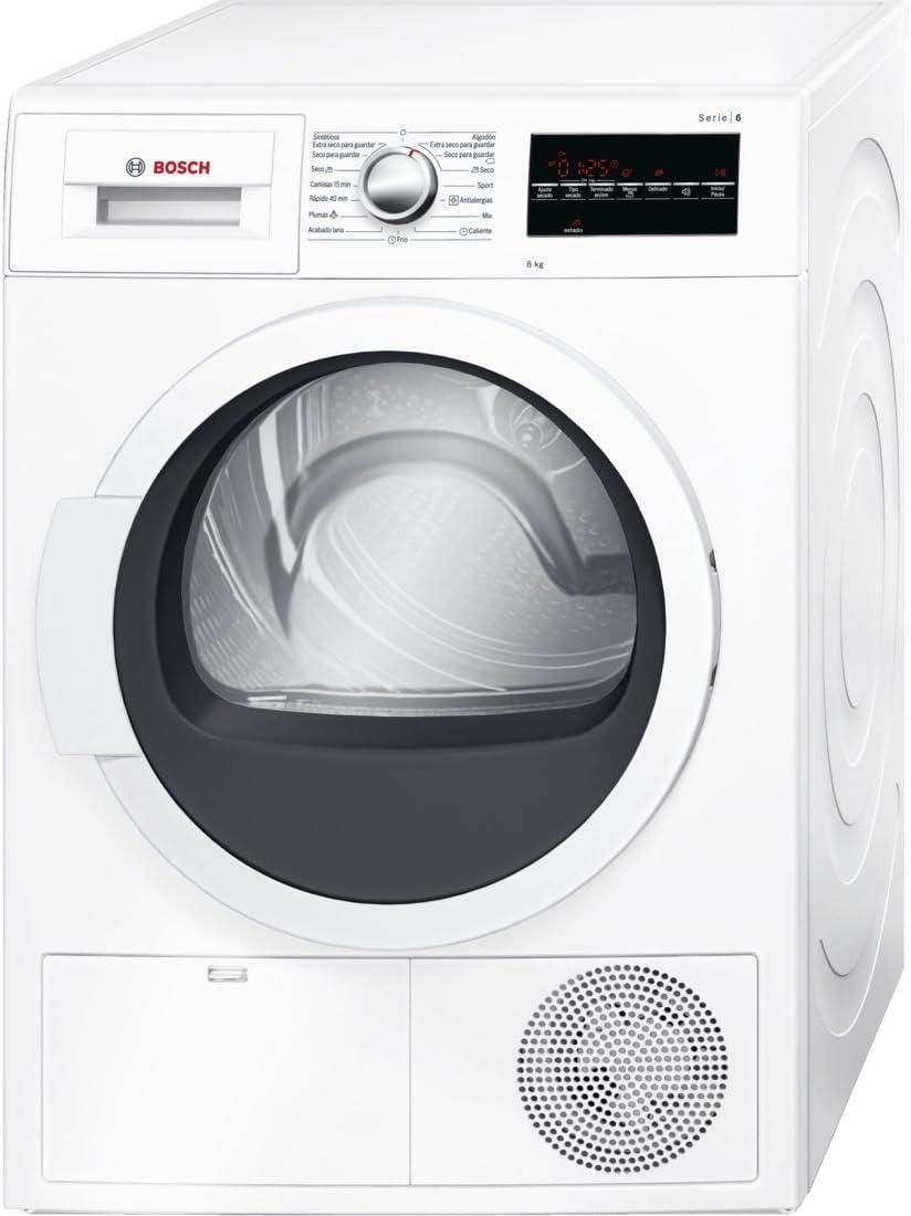 Bosch Serie 6 WTG86260EE Independiente Carga frontal 8kg B Blanco ...