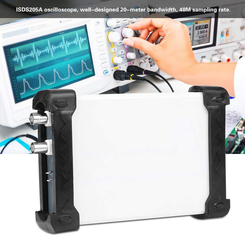 Signalgenerator ISDS205A Spektrumanalysator Oszilloskop 3 in 1 INSTRUSTAR PC USB-Oszilloskop 20M USB-Speicheroszilloskop Datenaufzeichnung