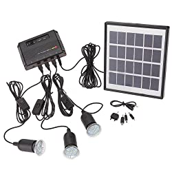 3. POPPAP Outdoor Lighting Solar Spotlight