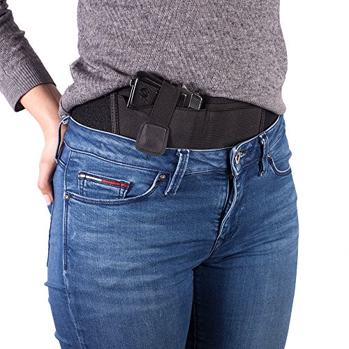 Holster Shield Belly Band Concealed Gun Holster By Mercor TAC – Comfortable, Lightweight & Breathable Neoprene Design, Unisex & Universal Fit, Safe, Simple & Discreet Handgun Carrying Belt