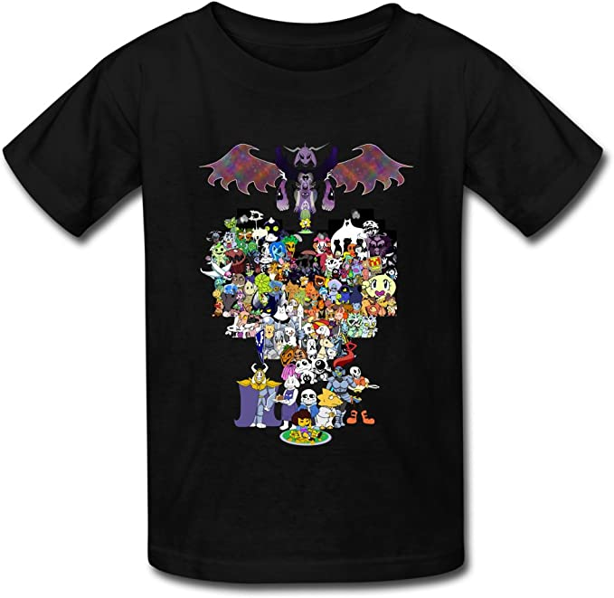 Undertale All Character For Kid/'s T-shirt
