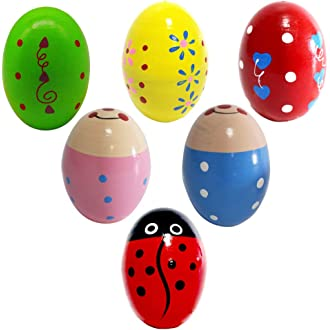 Sports & Entertainment Dashing A Pack Of 2 Plastic Sand Eggs Shaker Percussion Musical Instruments Toys Early Education For Children Kids Musical Instruments