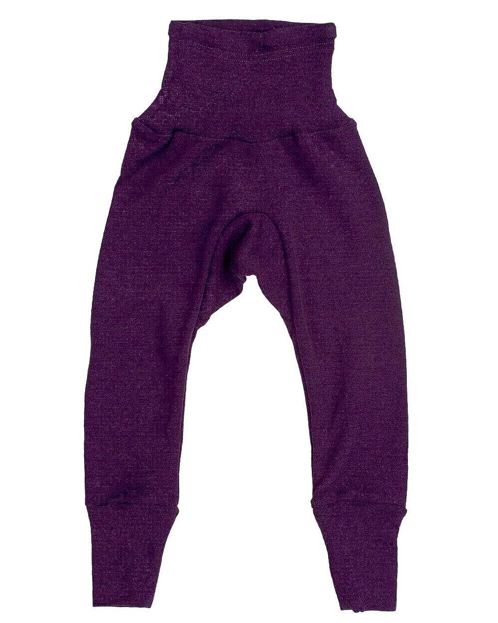 Cosilana Baby Hose lang mit Bund aus 70/% Wolle und 30/% Seide kbT