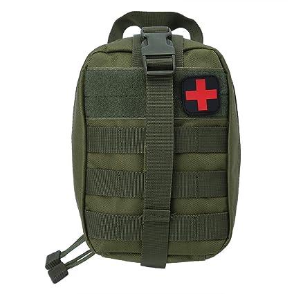 Bolsa de Primeros Auxilios de Supervivencia al Aire Libre Bolsa de Emergencia de Escalada