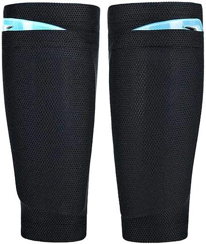 Kids Or Adult 1 Pair Sports Shin Guard Socks Football Calf Sleeves simple lskn