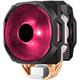 RGB CPU Air Cooler MA610P 6 CDC Heat Pipes Master Fan 120mm Intel/AMD AM4 Support (RGB)