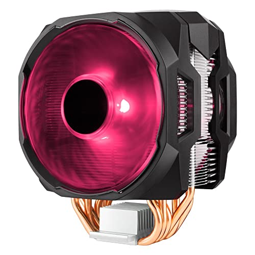 Cooler Master MA610P RGB CPU Air Cooler 6 CDC Heat Pipes Master Fan 120mm Intel/AMD AM4 Support