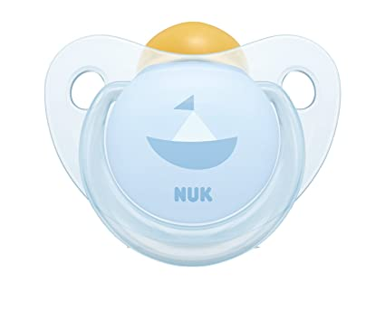NUK - 2 Chupetes Fisiologicos Classic Rose & Blue Látex T1 ...