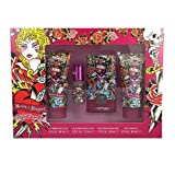 Ed Hardy 4 Piece Hearts and Daggers Fragrance Set for Women