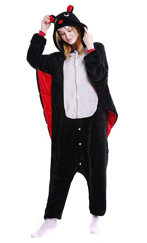 Amazon.com  Women s Sleepwear Halloween Pajamas Onepiece Onesie Cosplay  Costumes Kigurumi Animal Christmas  Clothing 3b927d7b50