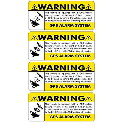 YELLOW STICKERS FS009 Vehicle Security product image