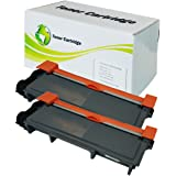 2 Pack INK4WORK® Replacement Toner Cartridge for Dell E310dw, E514dw, E515dn, E515dw (593-BBKD / P7RMX) High Yield