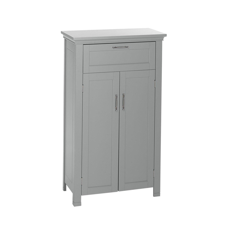 RiverRidge Home Products 06-077 Somerset 2-Door Floor Cabinet, Gray