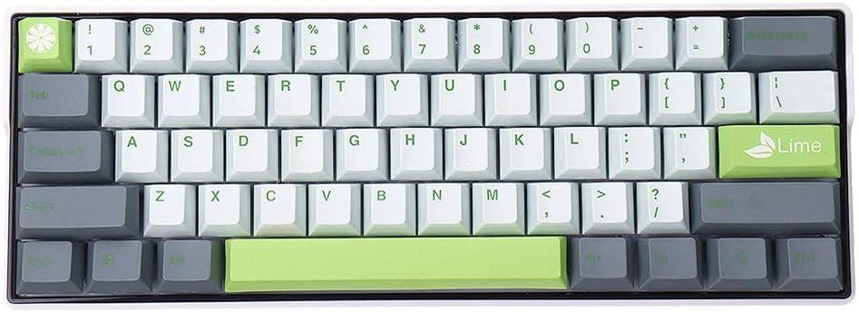 Juego de teclas PBT para teclados mecánicos 61/68/87/104/108 ...