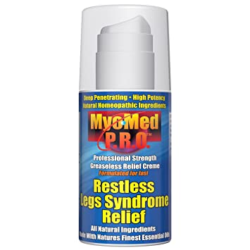 Amazon Com Best Restless Leg Syndrome Relief Cream By Myomed P R O