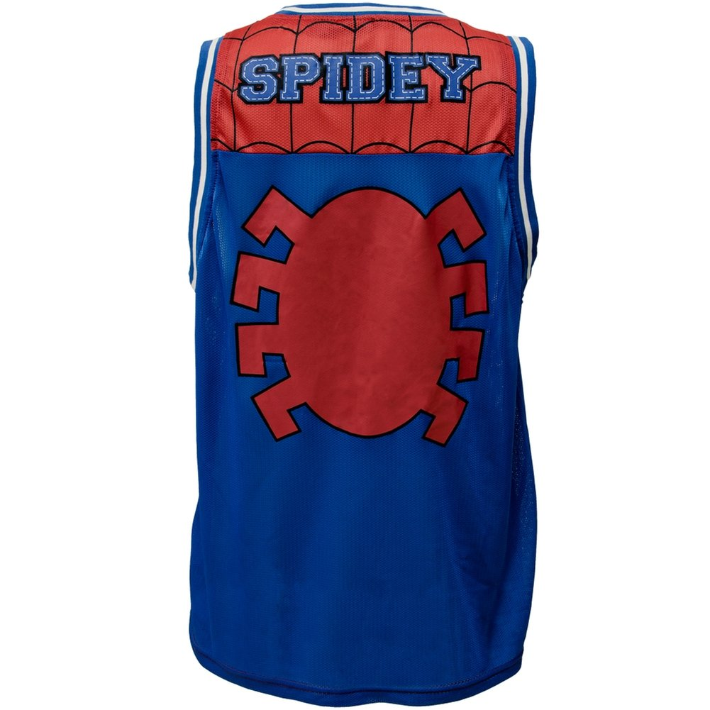 ea6364bc8b2a Amazon.com  Spider-Man - Jersey Parks Basketball Jersey  Clothing