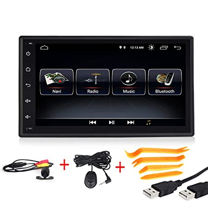amazon com android 8 1 car multimedia gps navigation 7 inch touch