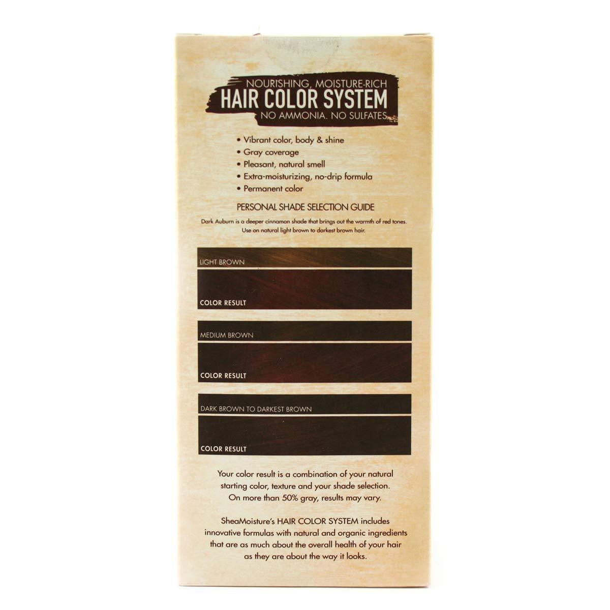 Buy Shea Moisture Hair Color System Dark Auburn Online At Low