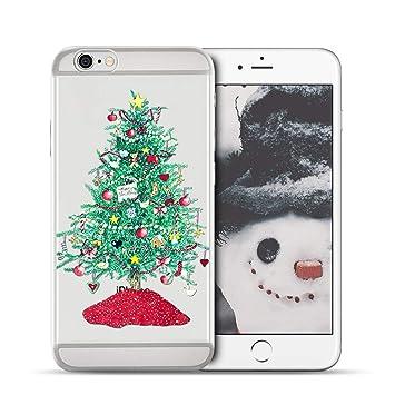 Anfire-ES Funda iPhone 6 / 6S Plus, Transparente Carcasa ...