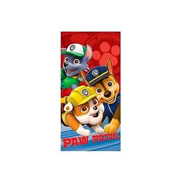Toalla Patrulla Canina Paw Patrol microfibra: Amazon.es: Juguetes y juegos