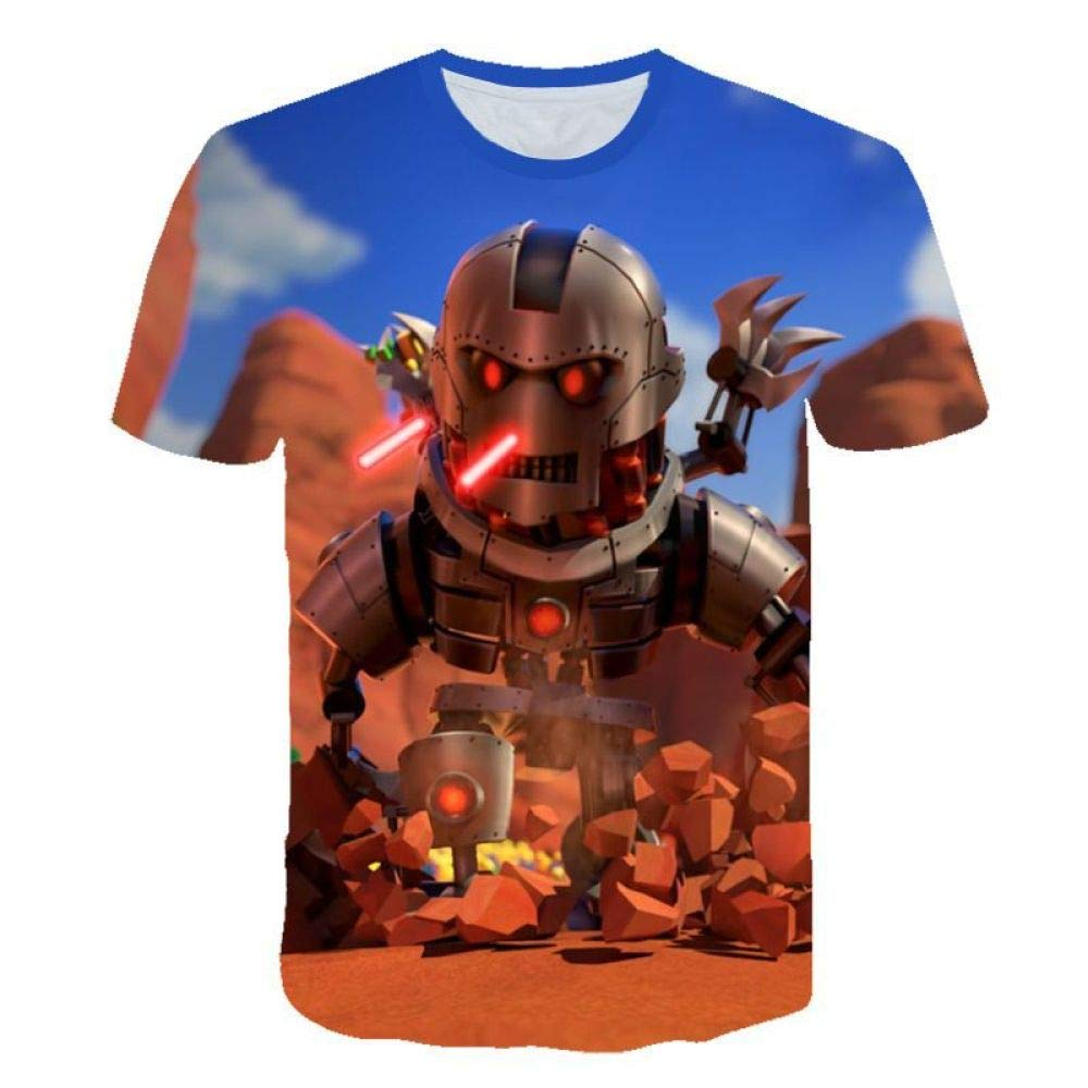 God Driver Camiseta Juego Niño Y Niña / / para Niños 3D Digital Impresión por Roblox Modelo Corto Manga Casual Parte Superior Pull-Over / A1 / XXL