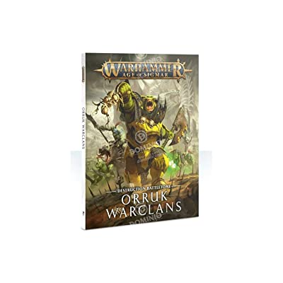 Games Workshop WARHAMMER AGE OF SIGMAR BATTLETOME: ORRUK WARCLANS: Toys & Games
