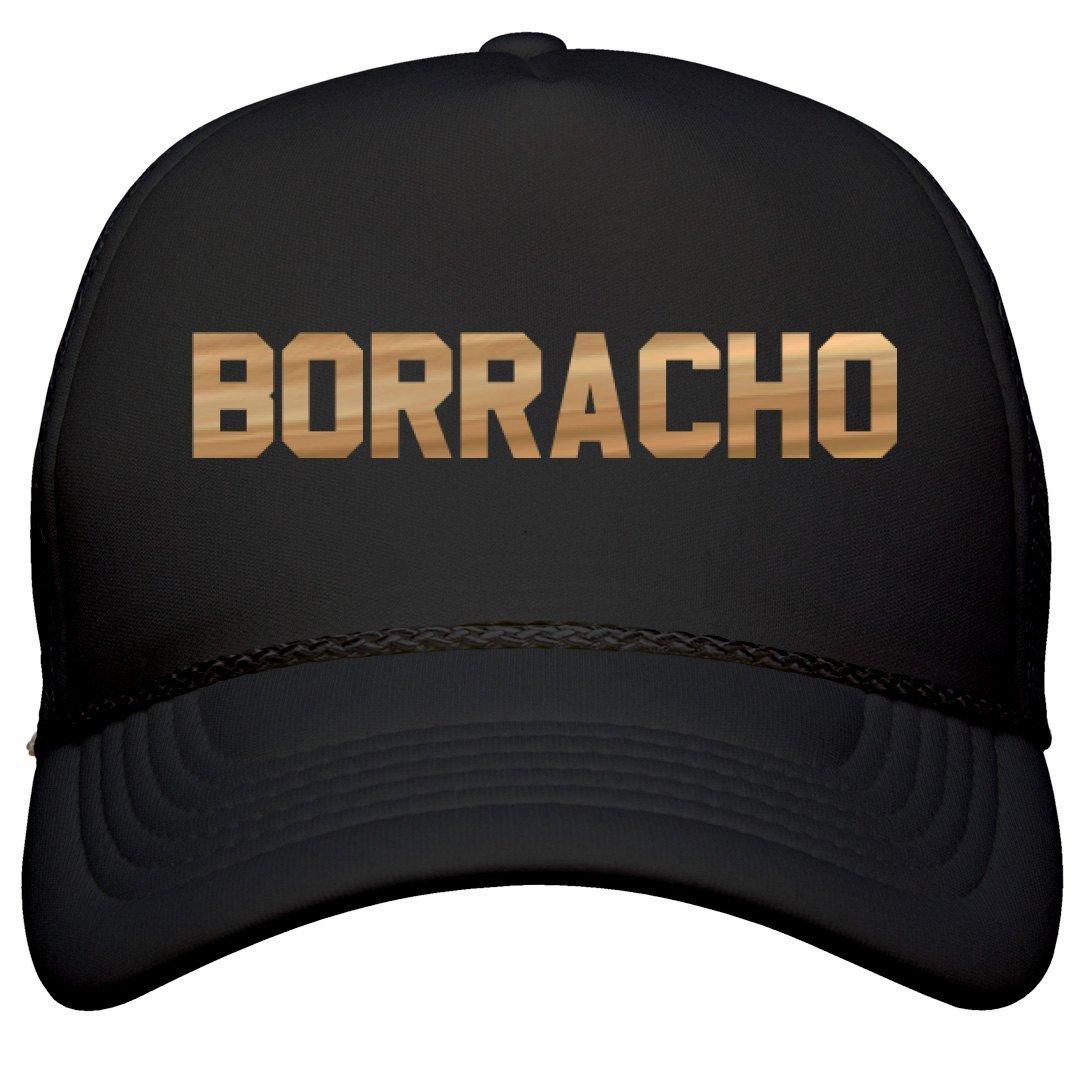 Amazon.com  Metallic Borracho Cinco De Mayo Hat  Film and Foil Solid Color  Snapback Trucker  Clothing 8656f3664b6