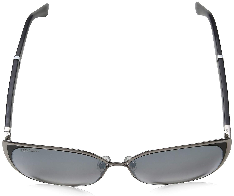 86b3e1b9492 Amazon.com  Jimmy Choo MATY S 1B0FU 58mm Ruthenium Lilac Black Glitter Grey  Silver  Clothing
