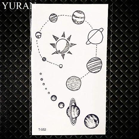GHHCG Acuarela Gadget Tatuaje Temporal Estrella de mar Etiqueta ...