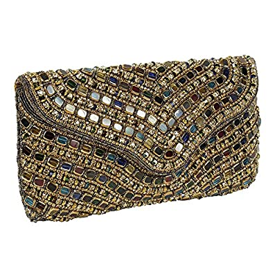 { Extra 10% Discount } Purse Collection Most Beautiful Multi Colour Handmade Beaded Clutch Purses For Women's