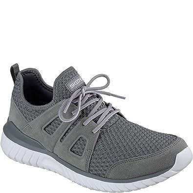 ff370ca98c253 Skechers Men's Rough Cut Cross Training Shoes Charcoal