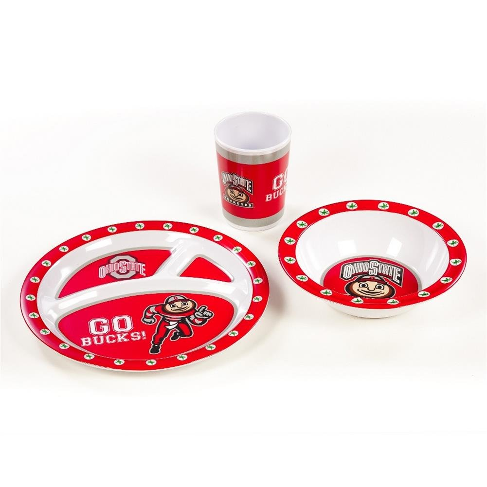新発売の NCAA Ohio State Buckeyes Buckeyes Ohio Kid NCAA 'sディッシュセット3点セット B00GP3MM8Y, ソニムラ:2c76de7a --- a0267596.xsph.ru