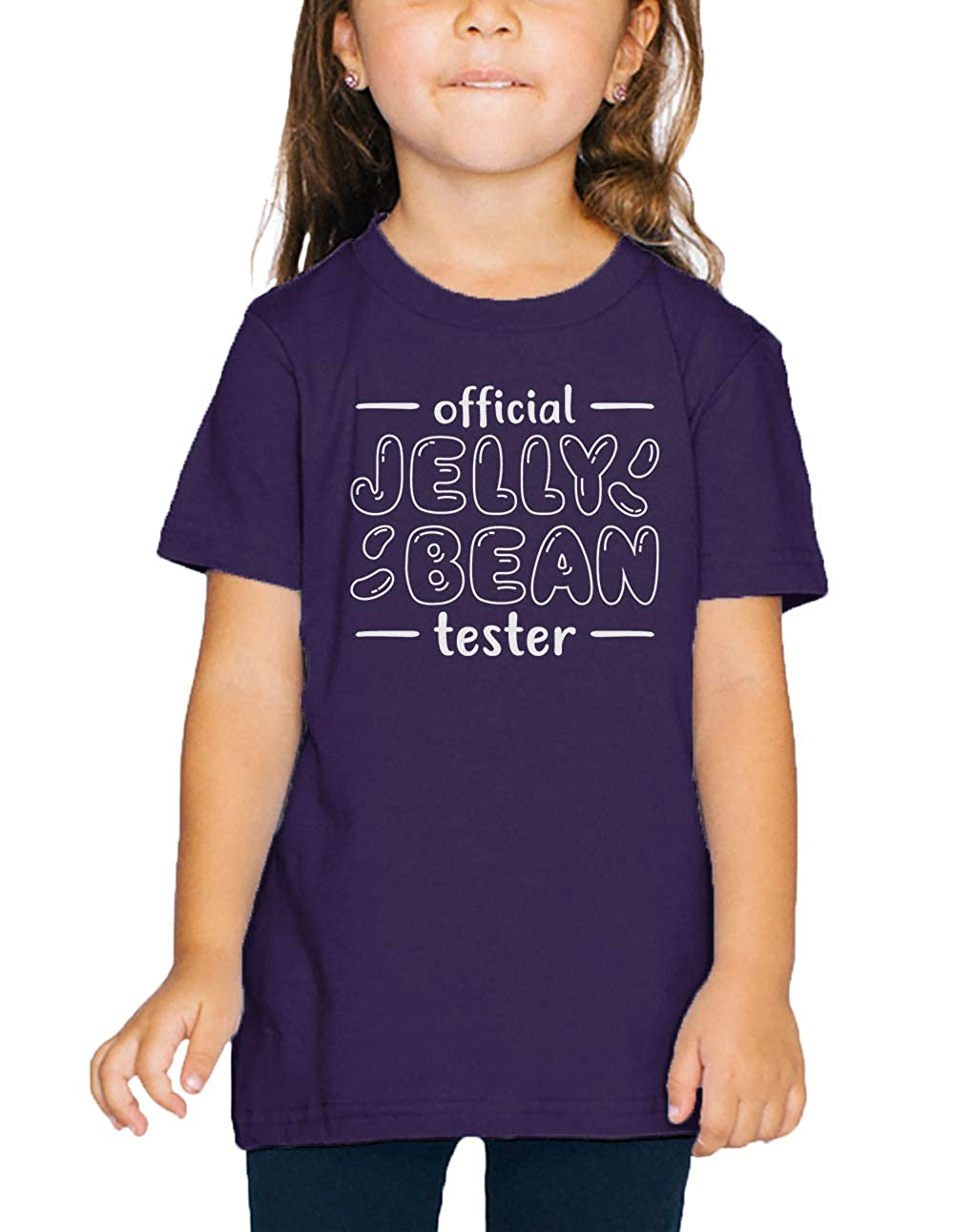 SpiritForged Apparel Official Jelly Bean Tester Happy Easter Toddler T-Shirt